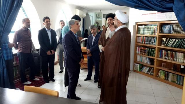 بازدید شهردار محترم منطقه 17 تهران از مسجد و حوزه علمیه حضرت ابوطالب علیهالسلام