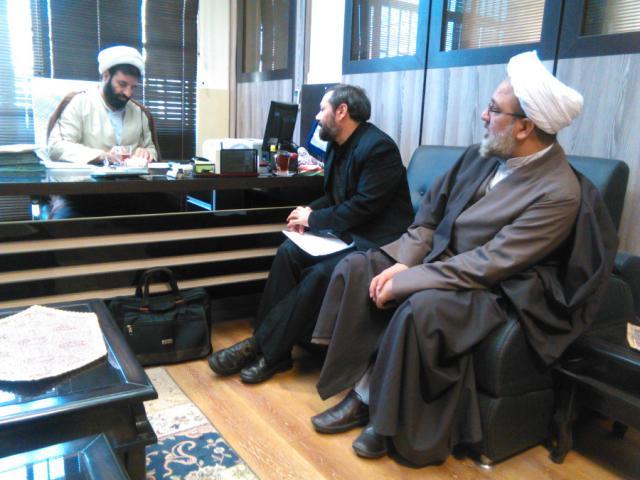 دیدار حجت الاسلام و المسلمین با رئیس کانون های مساجد وزارت ارشاد