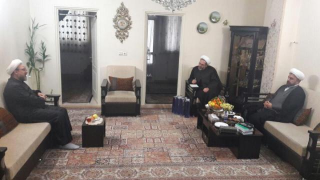 تقدیر مسئولین سازمان رسیدگی به امور مساجد از حجت الاسلام سینایی
