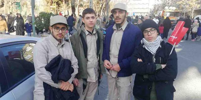 حجت الاسلام و المسلمین مراسم تشییع سهید سردار سپهبد حاج قاسم سلیمانی