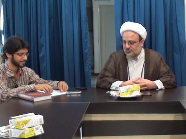 جلسه با اولیاء دانش آموزان مسجد منیریه