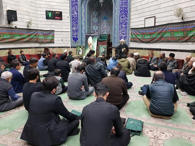 مجلس سوگواری شهادت سردار سپهبد قاسم سلیمانی