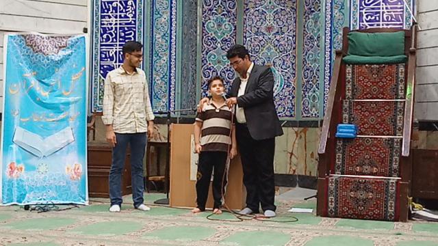 برگزاری محفل انس با قرآن کریم در مسجد حضرت ابوطالب علیه السلام