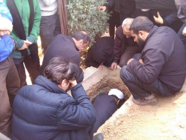 پدر حجت الاسلام سینایی دار فانی را وداع گفت.