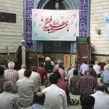 اقامه نماز عیدفطر در مسجد حضرت ابوطالب علیهالسلام و با امامت حجةالاسلام سینایی